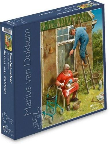 Doe-het-zelver - Marius van Dokkum Puzzel (1000 stukjes)