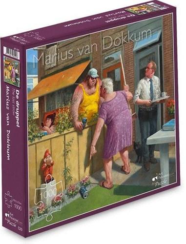 Marius van Dokkum - De Druppel Puzzel (1000 stukjes)