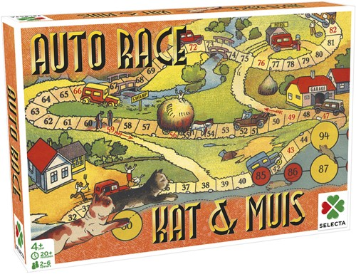 Spellen van Toen - Auto Race / Kat & Muis