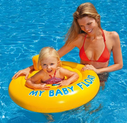 Intex - My Babyfloat Geel