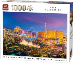 Las Vegas strip Puzzel (1000 stukjes)