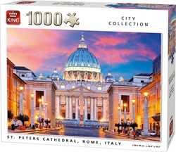 St. Peters Cathedral Rome Puzzel (1000 stukjes)