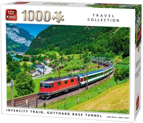 Intercity Train Puzzel (1000 stukjes)