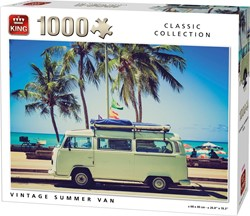 Vintage Summer Van Puzzel (1000 stukjes)