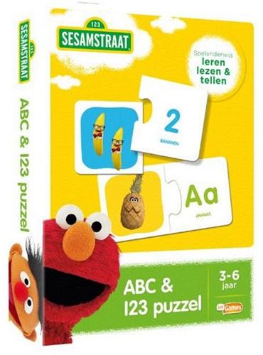 Sesamstraat - ABC & 123 Puzzel