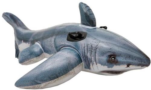 Intex - Opblaasbare Haai (Doos beschadigd)