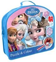 Disney Frozen - Puzzelen & Kleuren