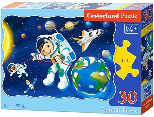 Space Walk Puzzel (30 stukjes)