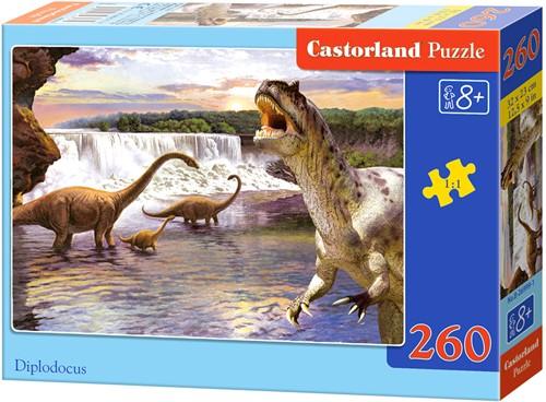 Diplodocus Puzzel (260 stukjes)