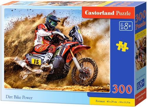 Dirt Bike Power Puzzel (300 stukjes)