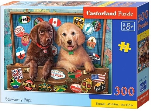 Stowaway Pups Puzzel (300 stukjes)
