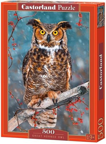 Great Horned Owl Puzzel (500 stukjes)