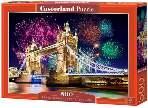 Tower Bridge, England Puzzel (500 stukjes)