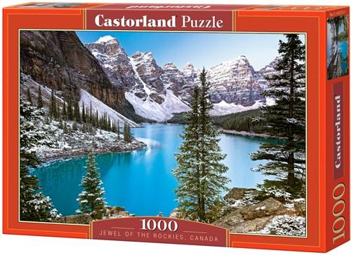 The Jewel of the Rockies, Canada Puzzel (1000 stukjes)
