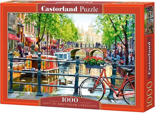 Amsterdam Landscape Puzzel (1000 stukjes)