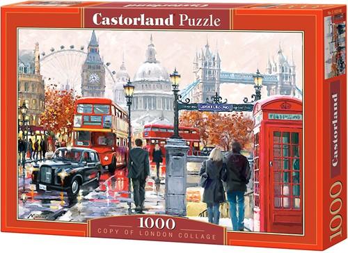 London Collage Puzzel (1000 stukjes)