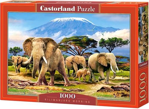Kilimanjaro Morning Puzzel (1000 stukjes)