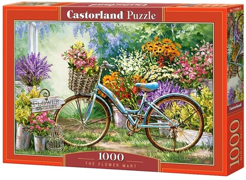 The Flower Mart Puzzel (1000 stukjes)