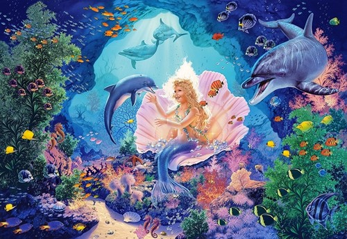 Pearl Princess Puzzel (1000 stukjes)-2