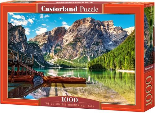 The Dolomites Mountains, Italy Puzzel (1000 stukjes)