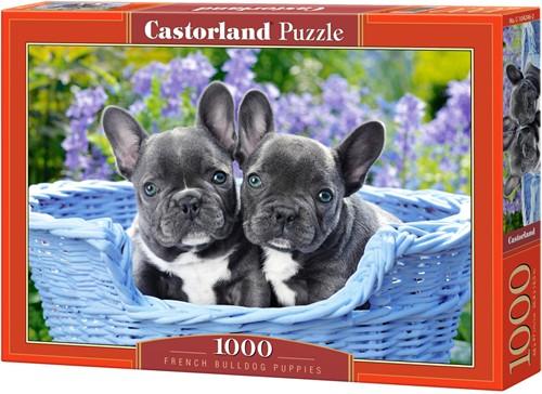 French Bulldog Puppies Puzzel (1000 stukjes)