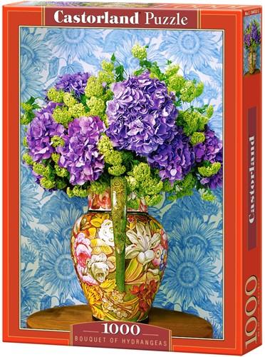 Bouquet of Hydrangeas Puzzel (1000 stukjes)