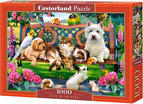 Pets in the Park Puzzel (1000 stukjes)