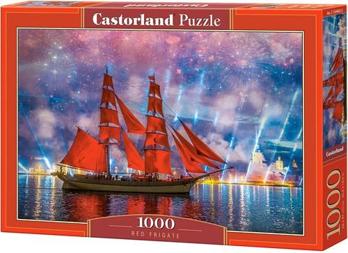 Red Frigate Puzzel (1000 stukjes)