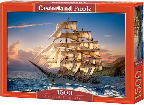 Sailing at Sunset Puzzel (1500 stukjes)