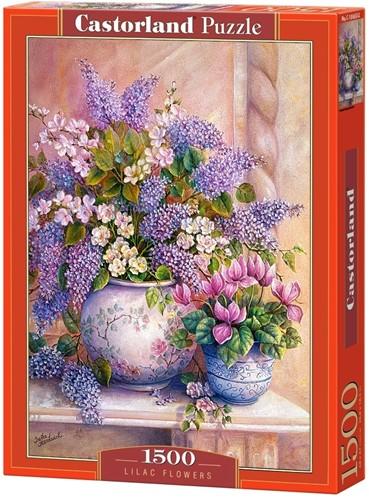 Lilac Flowers Puzzel (1500 stukjes)