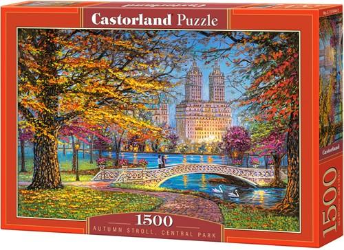 Autumn Stroll, Central Park Puzzel (1500 stukjes)