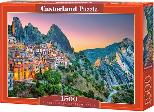 Sunrise over Castelmezzano Puzzel (1500 stukjes)