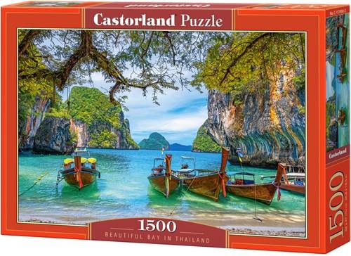 Beautiful Bay in Thailand Puzzel (1500 stukjes)