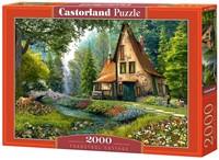 Toadstool Cottage Puzzel (2000 stukjes)-1