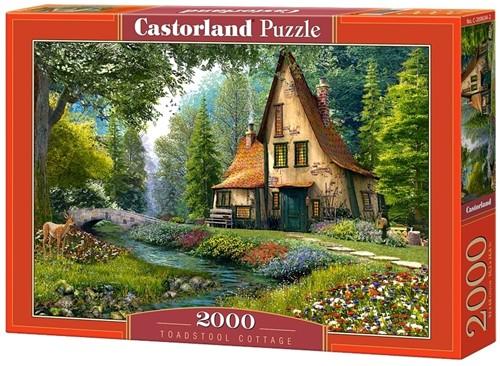 Toadstool Cottage Puzzel (2000 stukjes)