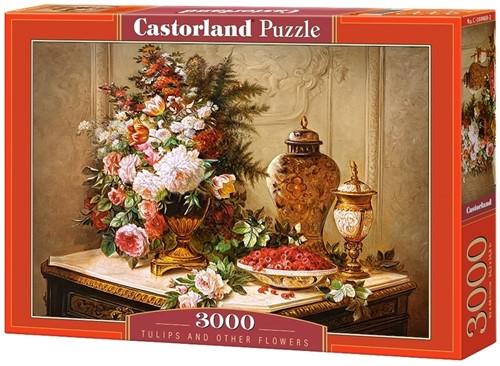 Tulips and other Flowers Puzzel (3000 stukjes)