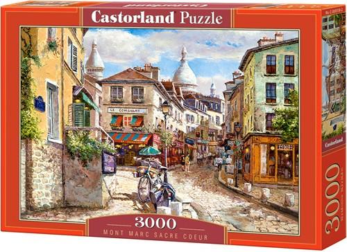 Mont Marc Sacre Coeur Puzzel (3000 stukjes)