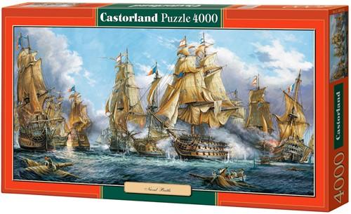 Naval Battle Puzzel (4000 stukjes)