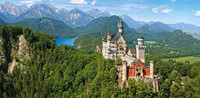 View of the Neuschwanstein Castle Puzzel (4000 stukjes)-2