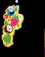 SES - Fruitgeur Bellenblaas (3x200ml)-2