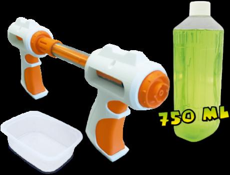 SES - Slime Battle Navulling Groen-2