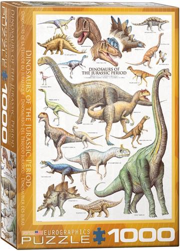 Dinosaurs of the Jurassic Puzzel (1000 stukjes)