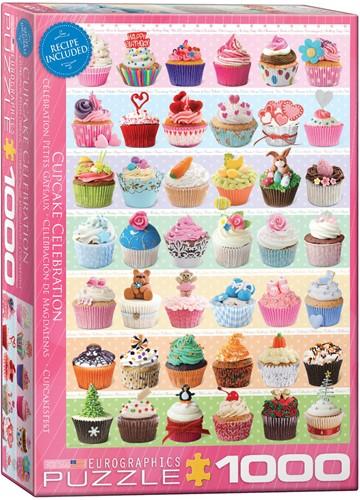 Cupcake Celebration Puzzel (1000 stukjes)