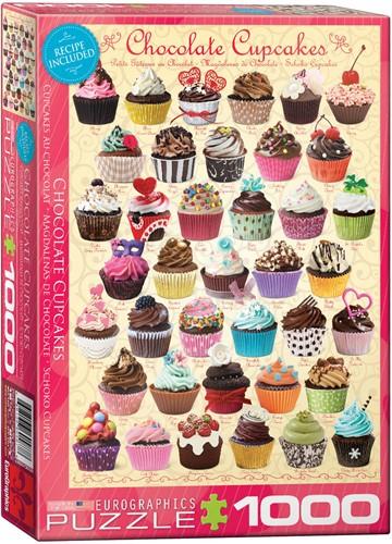 Chocolate Cupcakes Puzzel (1000 stukjes)