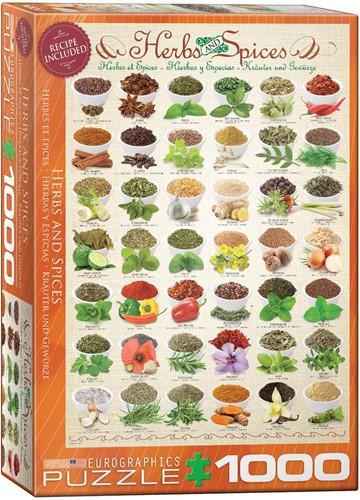 Herbs and Spices Puzzel (1000 stukjes)