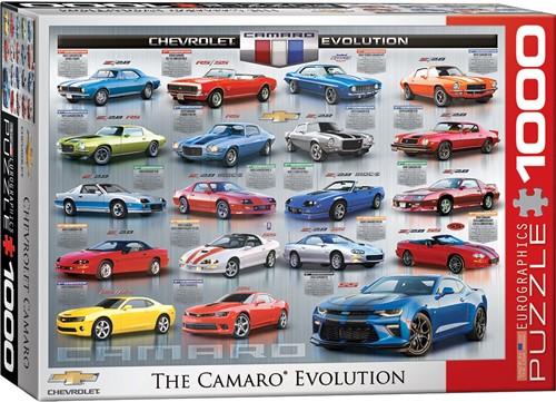 Chevrolet The Camaro Evolution Puzzel (1000 stukjes)