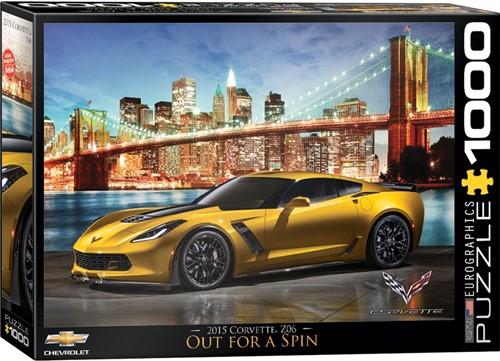 Corvette Z06 Out for a Spin Puzzel (1000 stukjes)