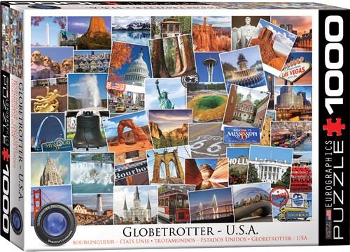 Globetrotter - USA Puzzel (1000 stukjes)