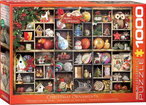 Christmas Ornaments Puzzel (1000 stukjes)