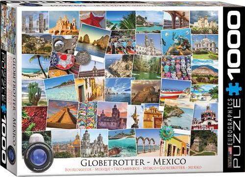 Globetrotter - Mexico Puzzel (1000 stukjes)